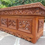 Japanese Hand Carved Coffee Table