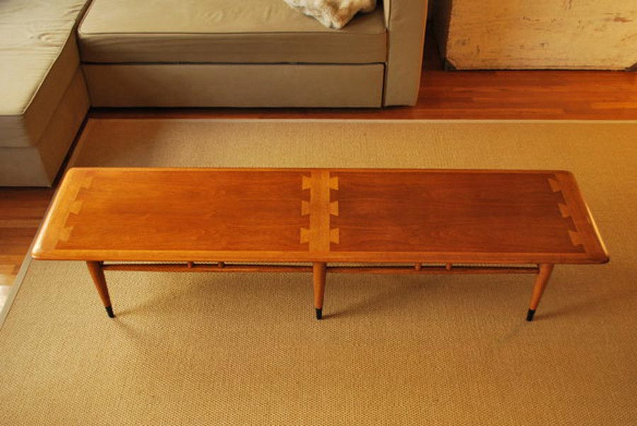 Lane Mid Century Modern Coffee Table
