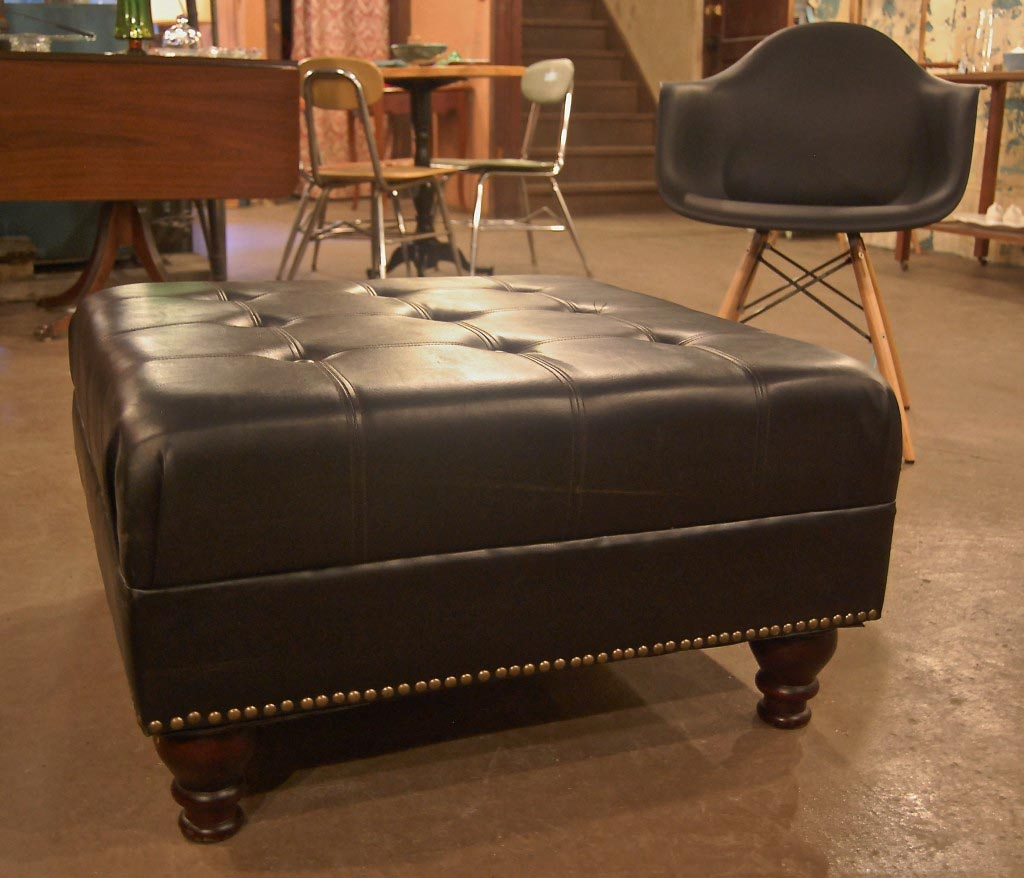 Large Leather Ottoman Coffee Table Coffee Table Design Ideas