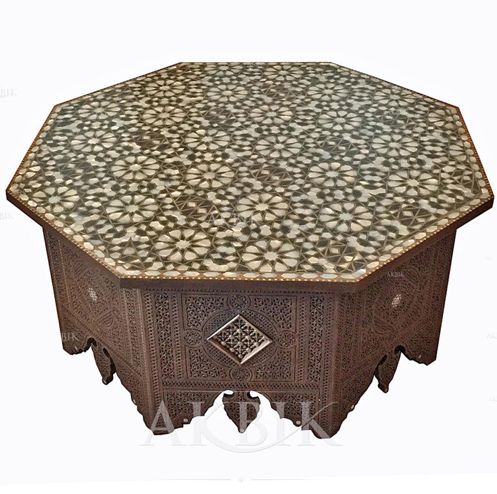 Large Moroccan Coffee Table