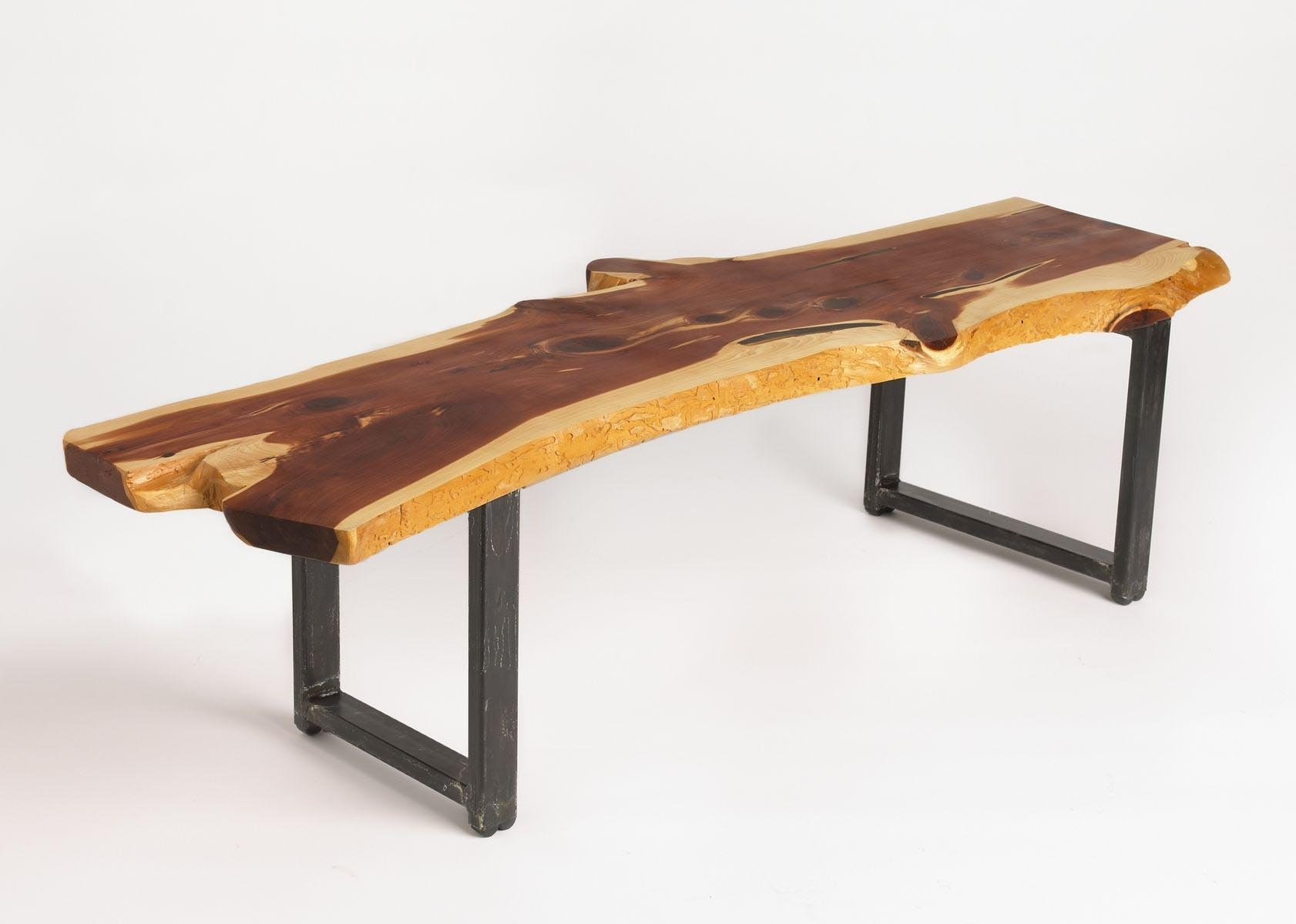 Large wood slab coffee table coffee table design ideas for Large wooden coffee tables