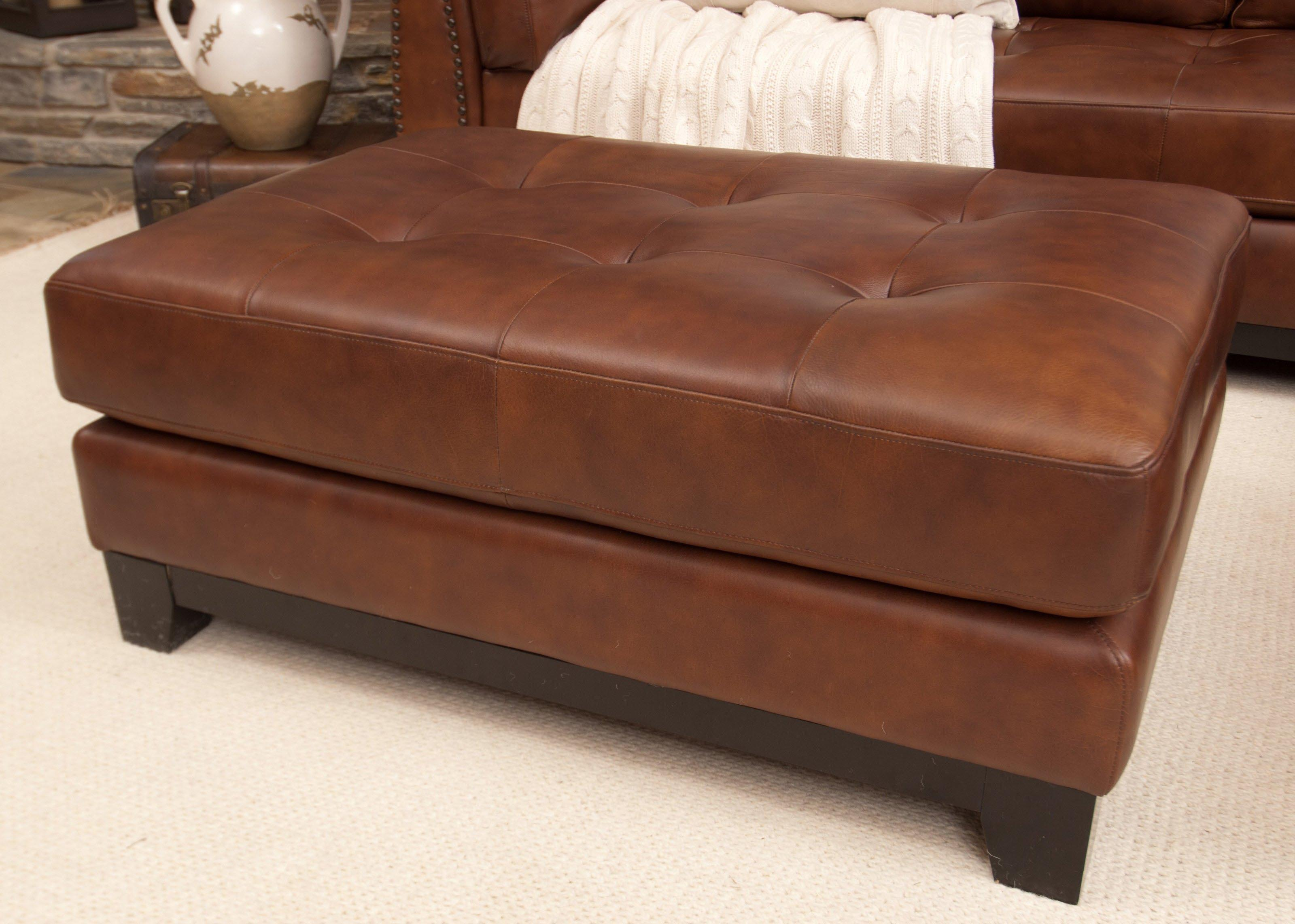 Leather Tufted Coffee Table