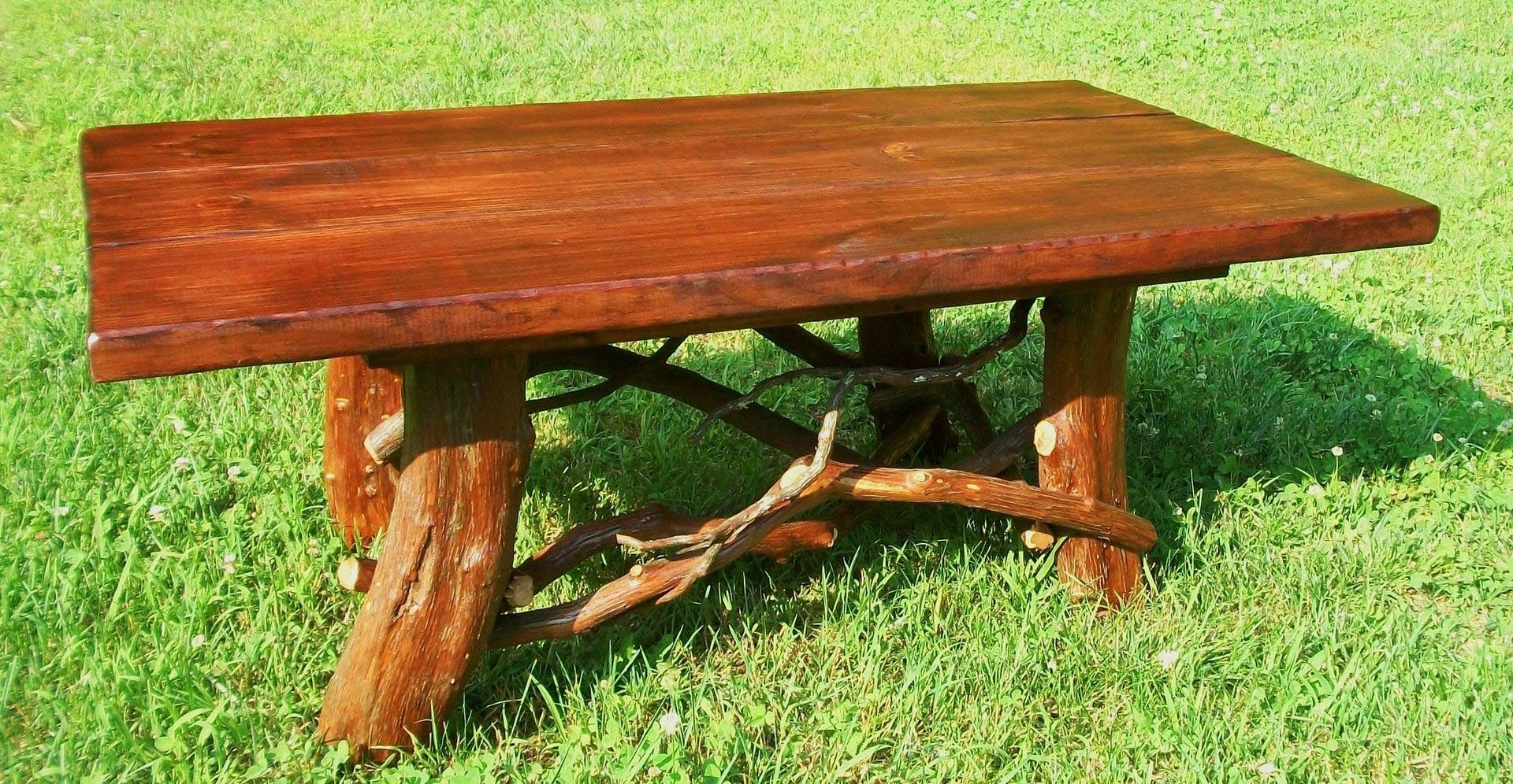 Log Cabin Coffee Table