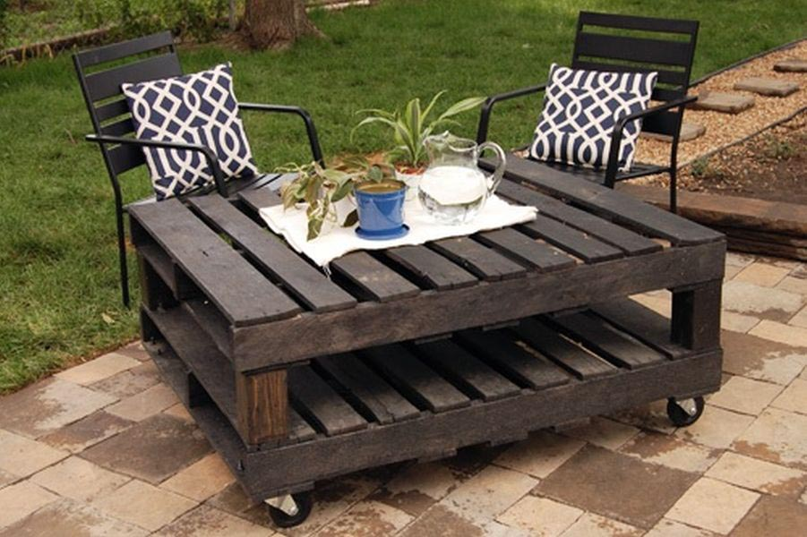 Log Cabin Style Coffee Tables