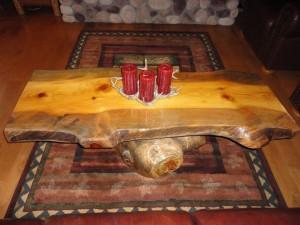 Log Coffee Table Furniture