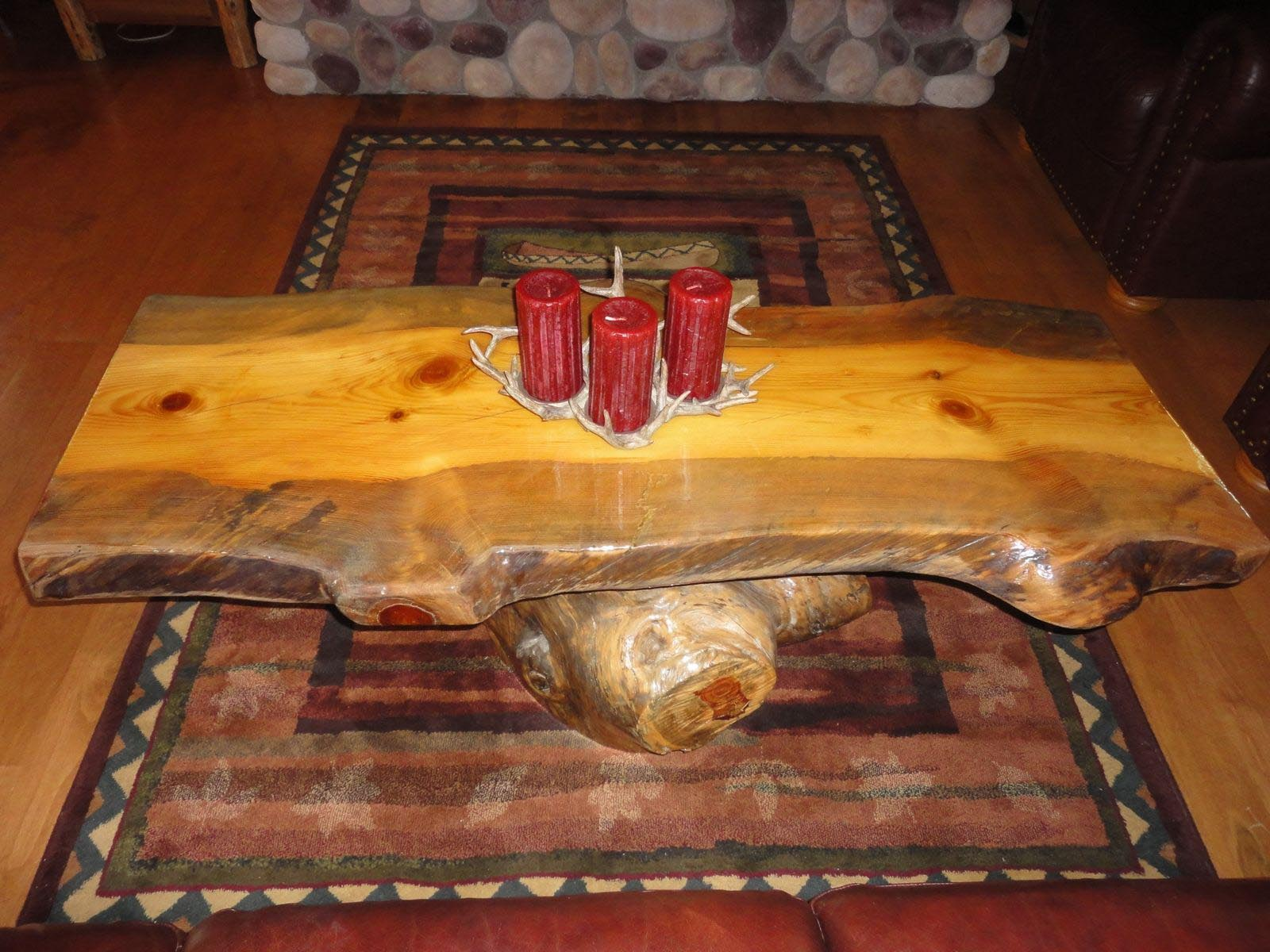 Log Coffee Table Furniture