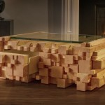 Log Coffee Table the Block