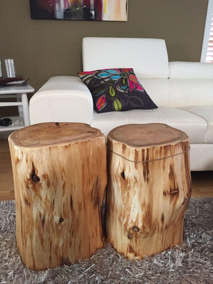 Log Furniture Coffee Table
