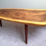 Log Slab Coffee Table