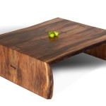 Log Slab Coffee Tables