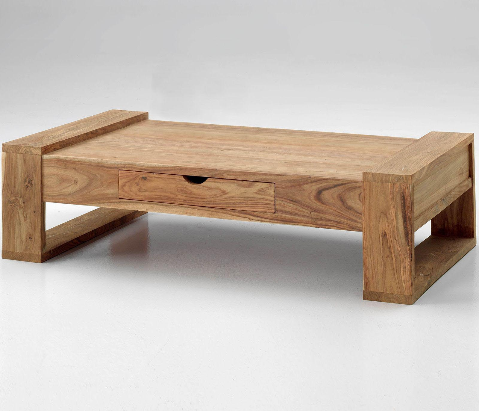 Modern wood table design -  Small Low Coffee Table Design Ideas