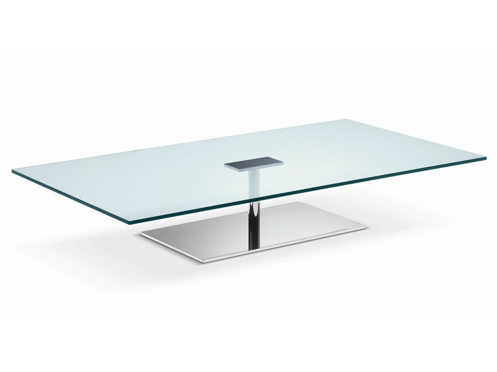 Low Glass Coffee Table
