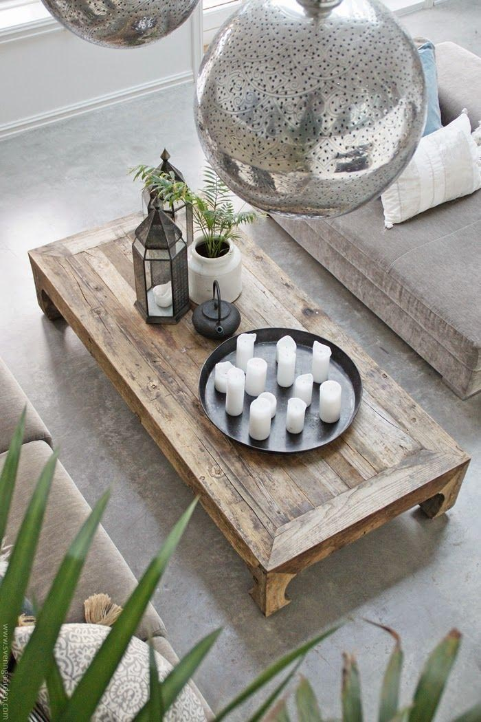 Low Outdoor Coffee Table