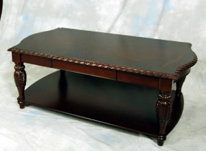 Mahogany Coffee Table and End Tables