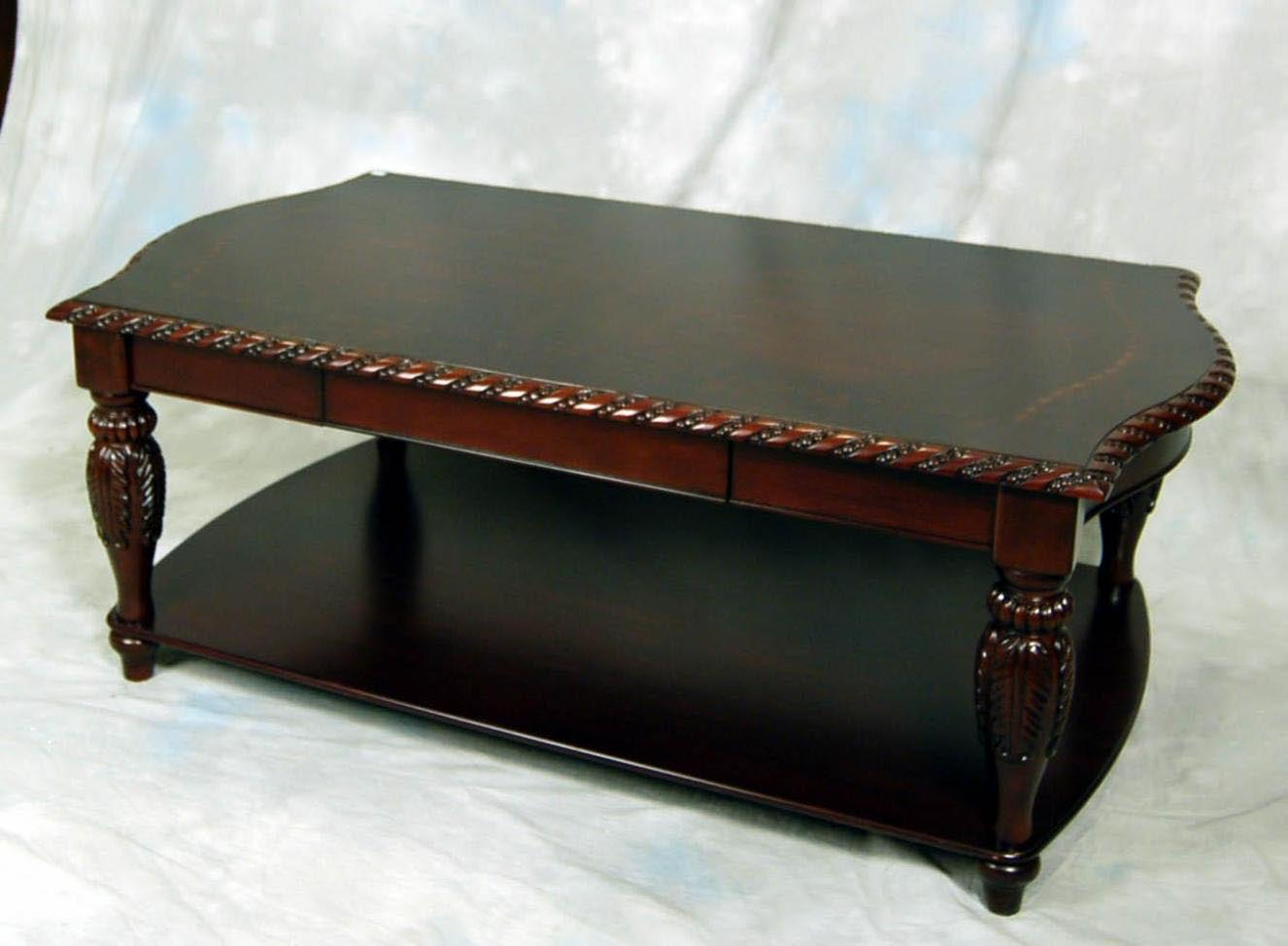 Mahogany coffee table and end tables coffee table design for Coffee end tables