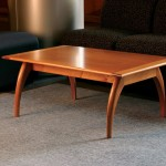 Mahogany Wood Coffee Table