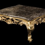 Marble Gold Coffee Table