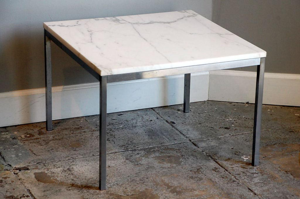 Marble Steel Coffee Table