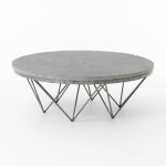 Modern Circle Coffee Table