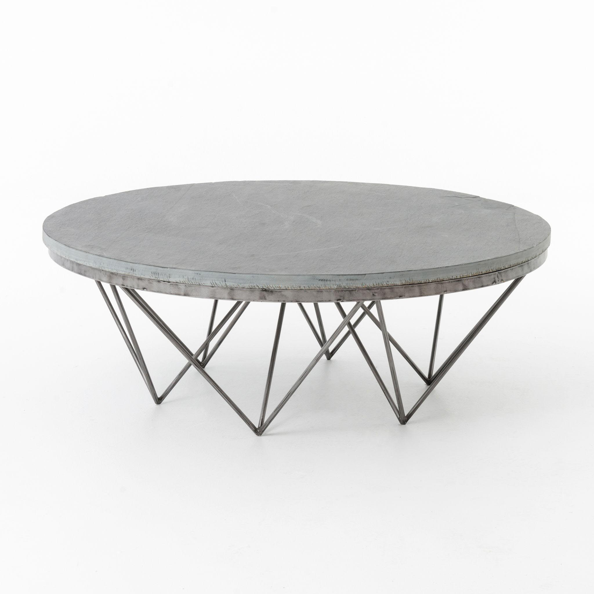 Circle Coffee Table Significant Element of the Recreation Area