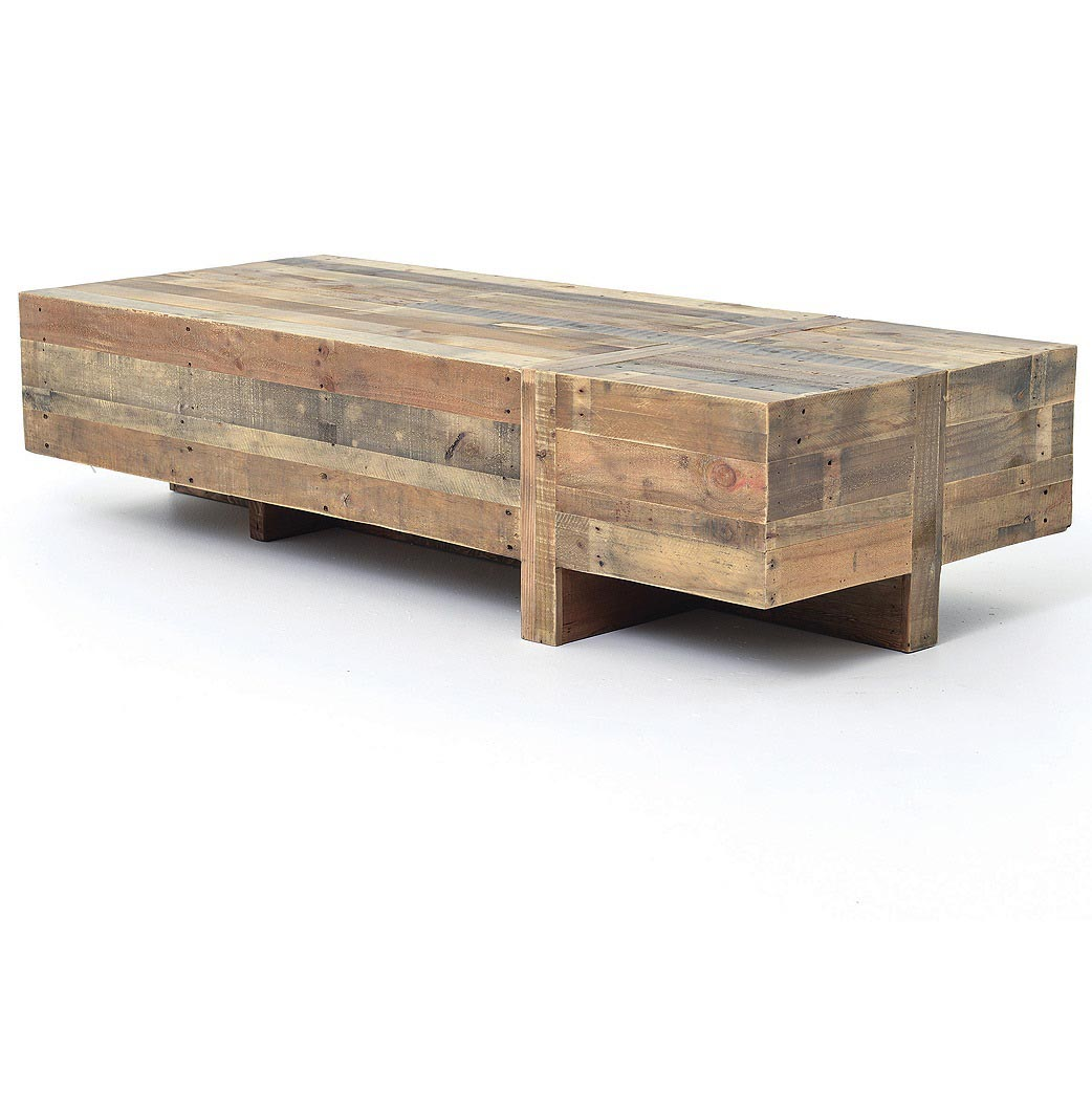 Modern rustic coffee table coffee table design ideas for Modern style coffee tables