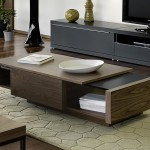 Modern Storage Coffee Table
