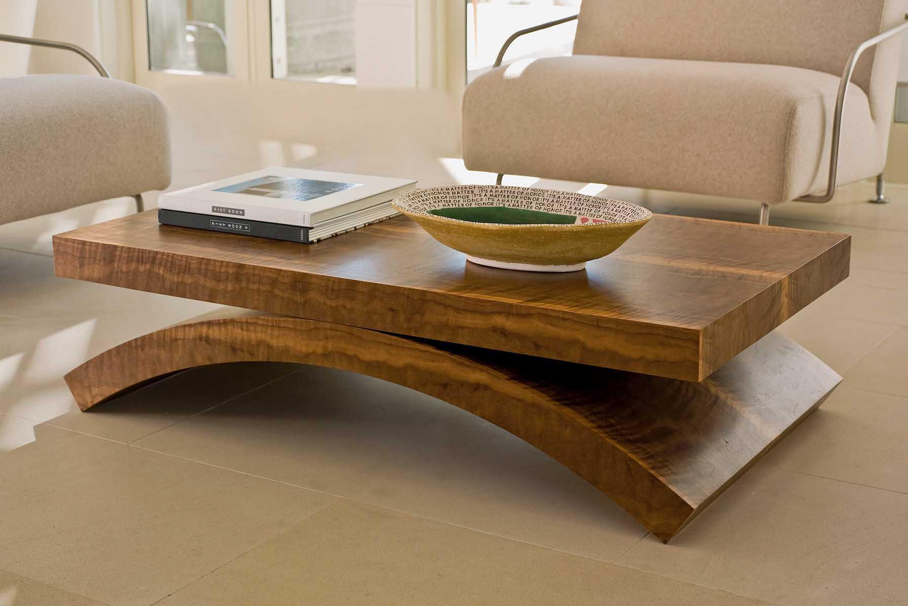 Modern wooden coffee table coffee table design ideas for Modern style coffee tables