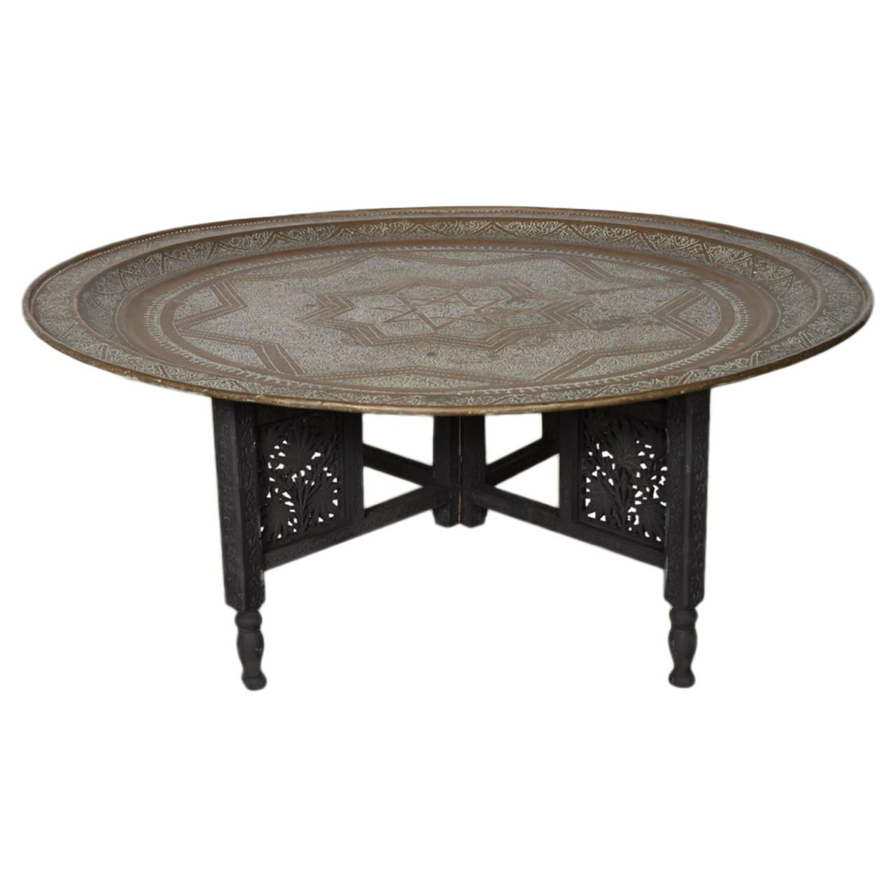 Moroccan Metal Coffee Table