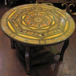 Moroccan Round Coffee Table