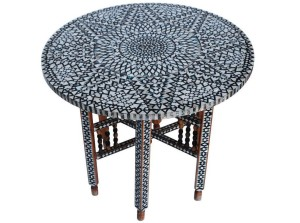 Moroccan Round Coffee Tables