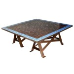 Moroccan Tile Coffee Table