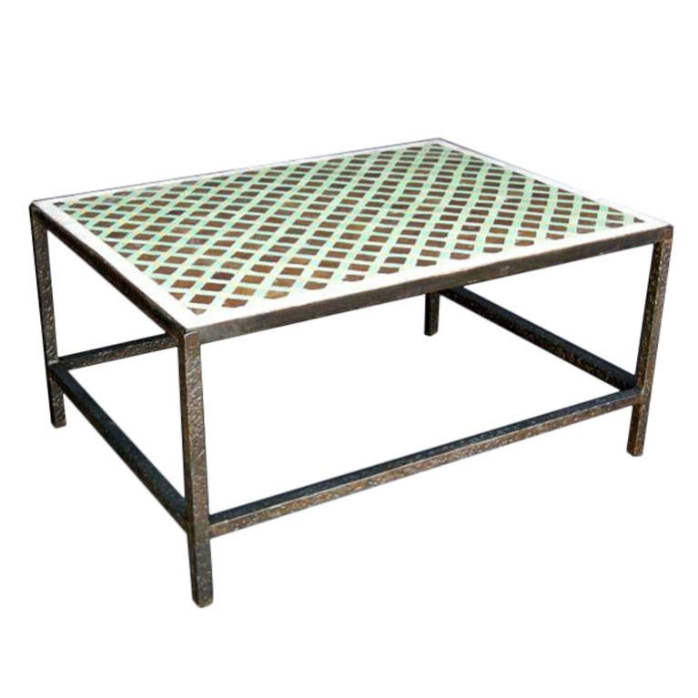 Moroccan Tiled Coffee Table