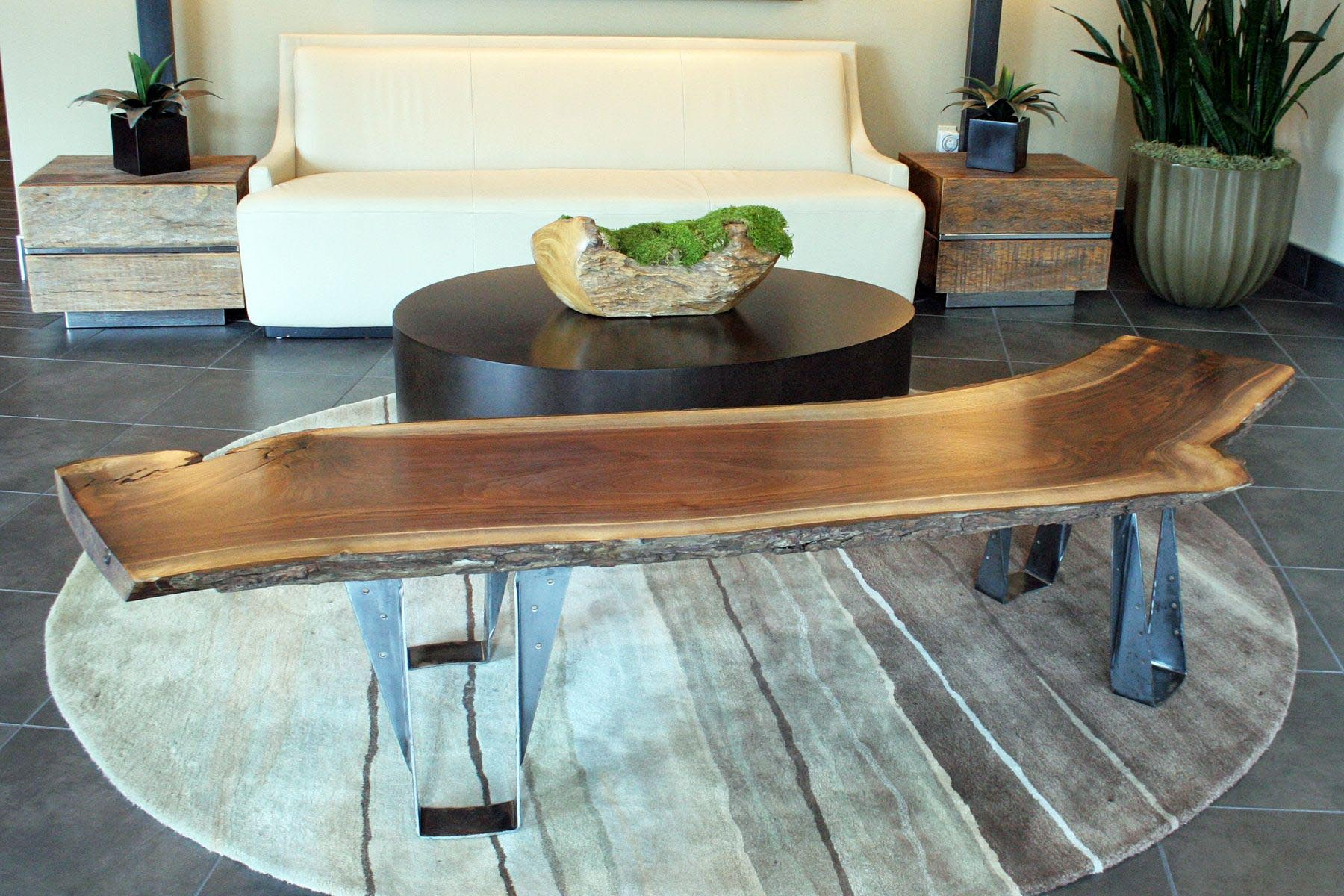 Natural Log Coffee Table