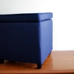 Navy Blue Ottoman Coffee Table