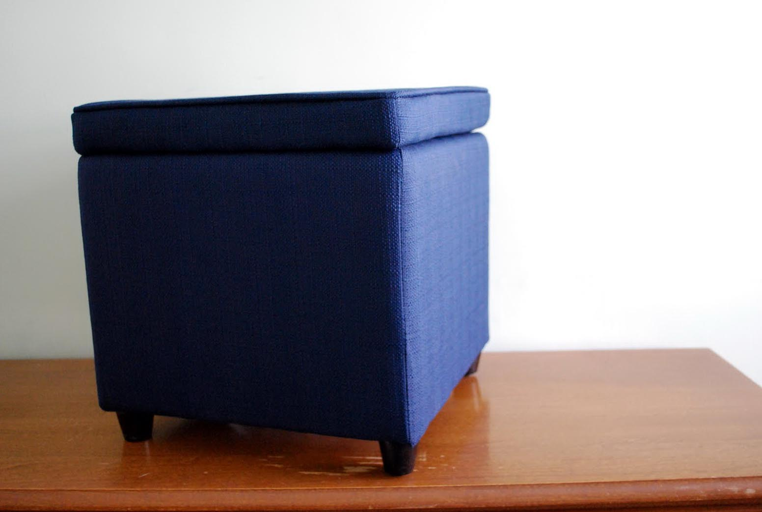 Navy Blue Ottoman Coffee Table Coffee Table Design Ideas