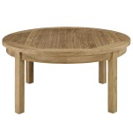 Outdoor Patio Round Coffee Table