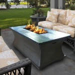 Patio Coffee Table Fire Pit