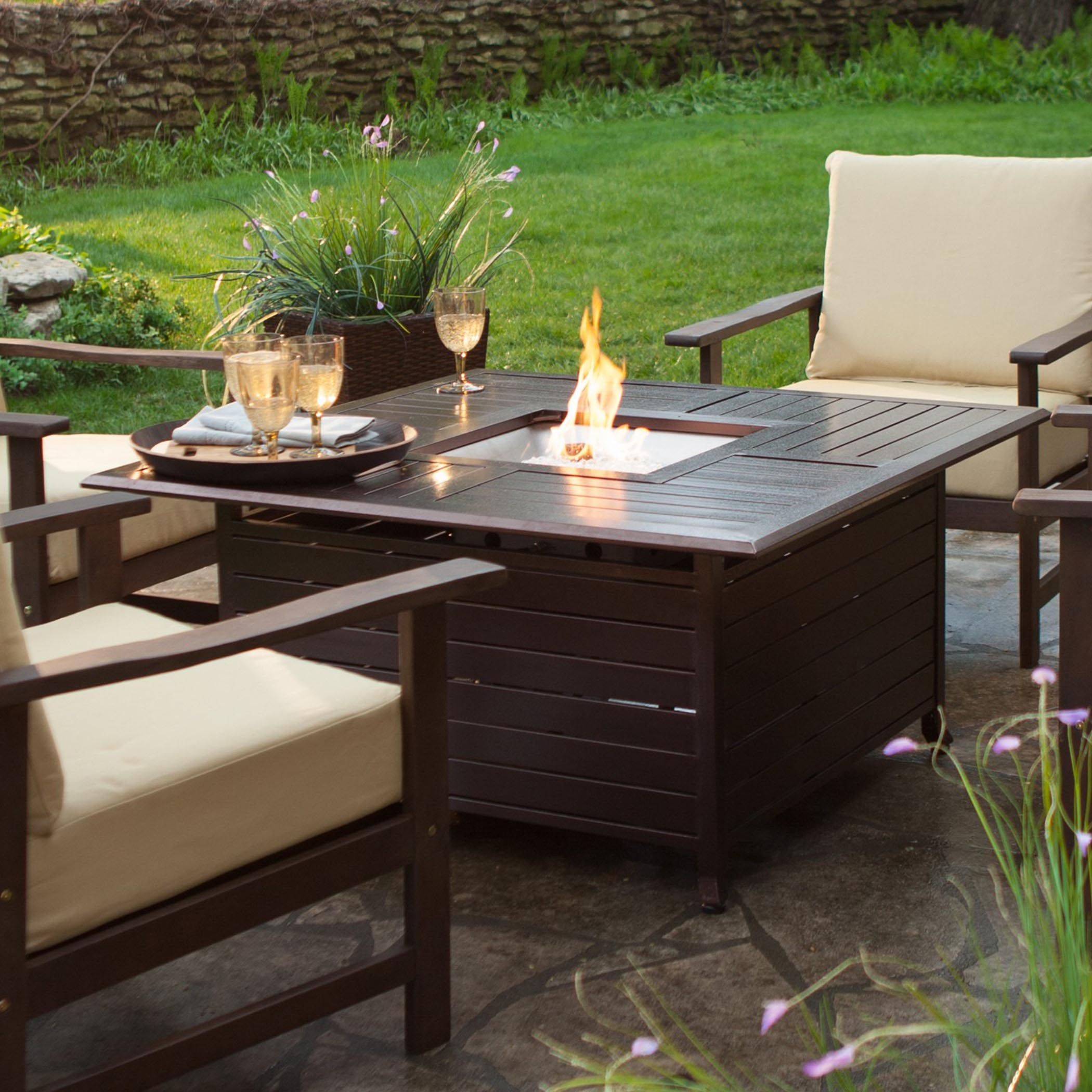 Wow Effect of a Patio Coffee Table