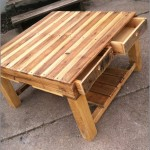 Patio Coffee Table Plans