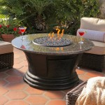 Patio Coffee Table Round