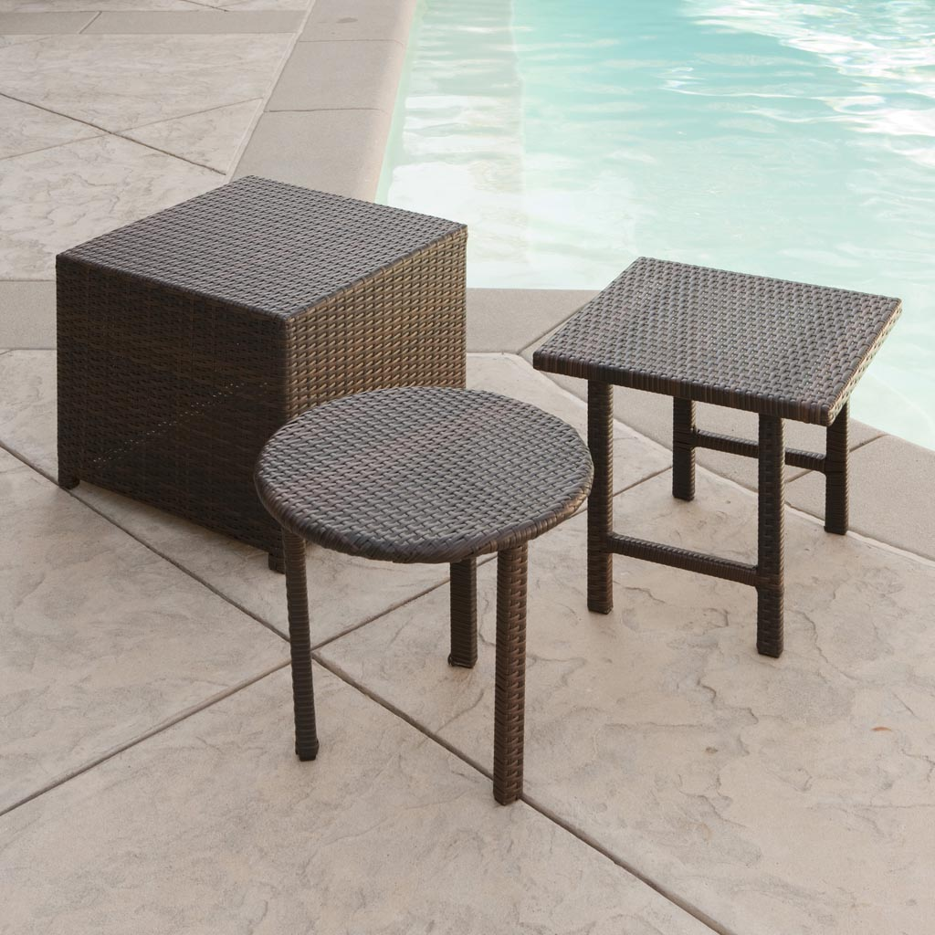 Patio coffee table set coffee table design ideas for Patio table set