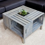Patio Coffee Table Storage