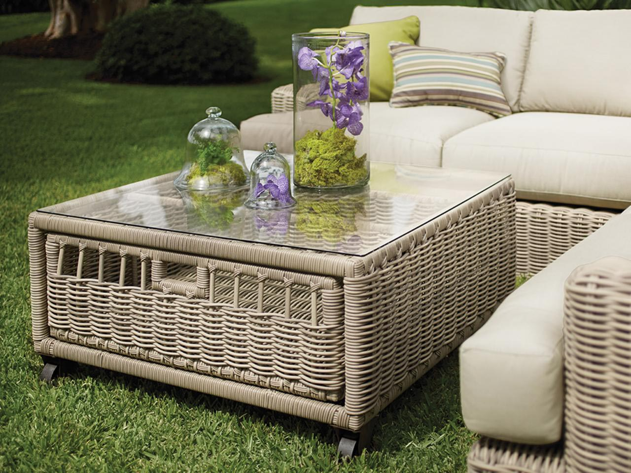 Patio Coffee Table With Storage Coffee Table Design Ideas