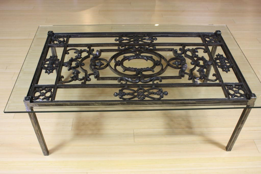 Patio Coffee Tables Wrought Iron