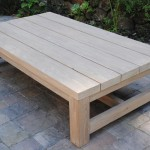 Patio Furniture Coffee Table