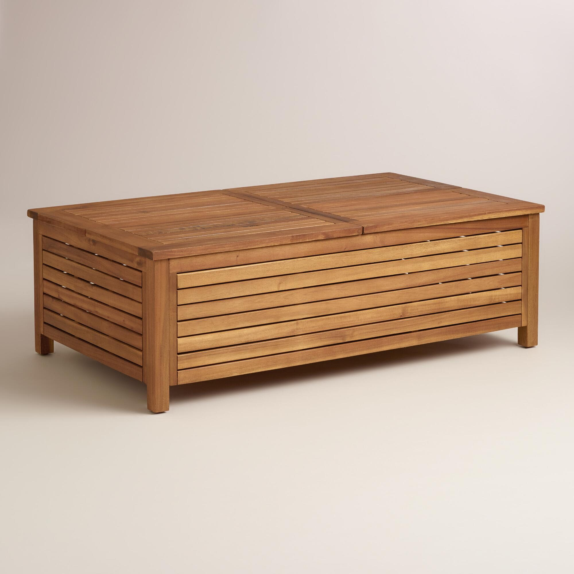 Patio storage coffee table coffee table design ideas Patio coffee tables