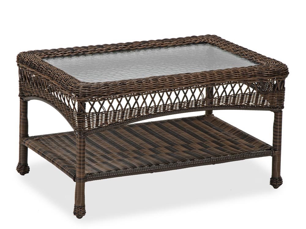 Patio Wicker Coffee Table