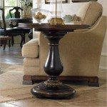 Pedestal Coffee Table Round