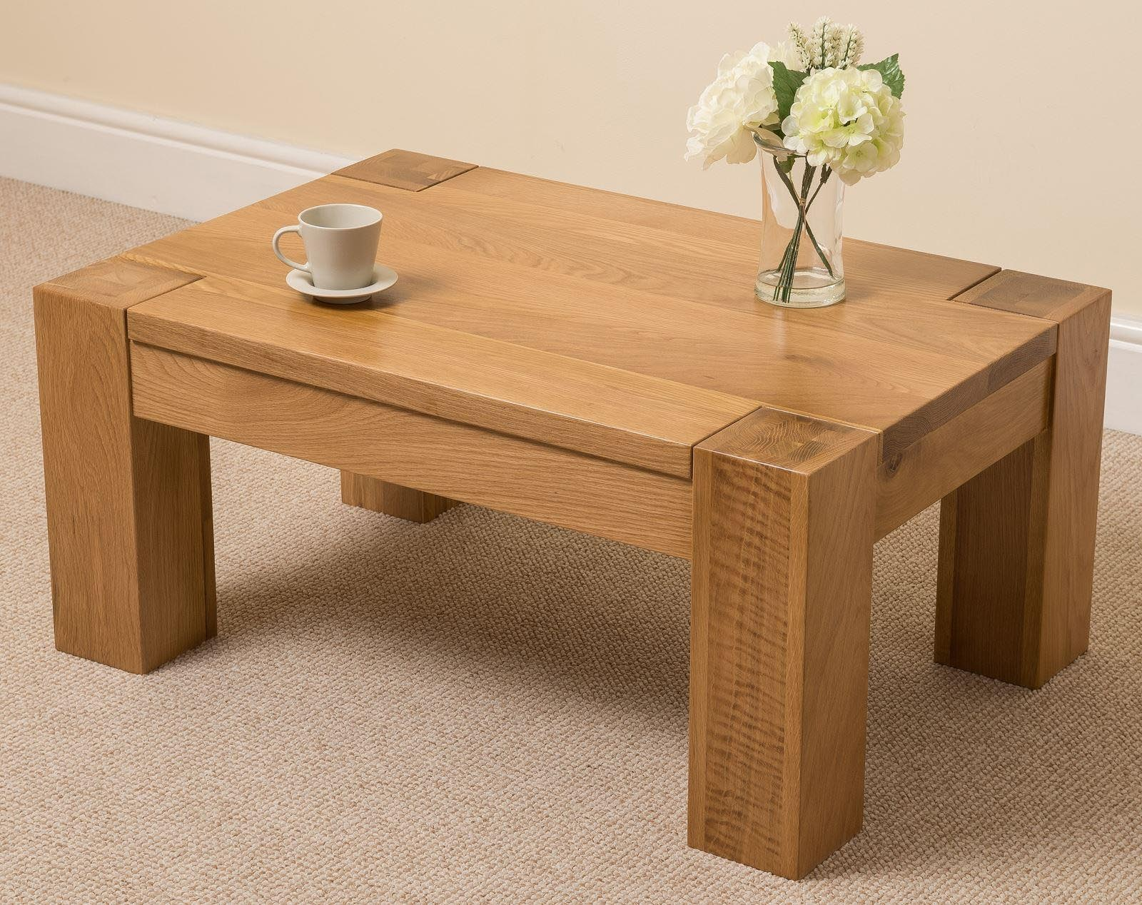 Pine Wood Coffee Table
