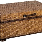Rattan Coffee Table with Storage